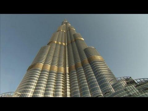 Google Maps Burj Khalifa Skyscraper.