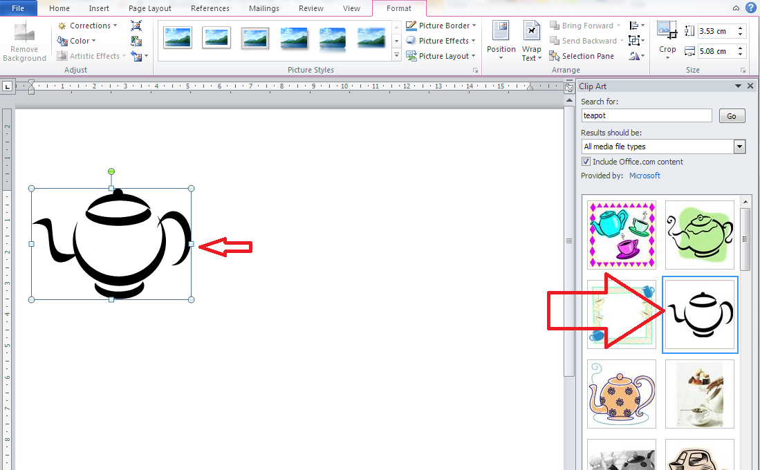 How To Insert Clipart In Word 2016.