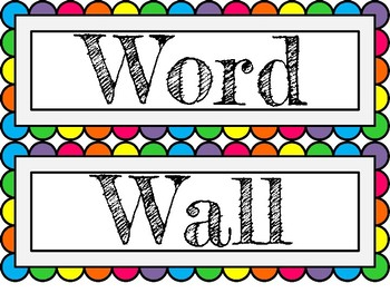 Word wall clipart 1 » Clipart Station.