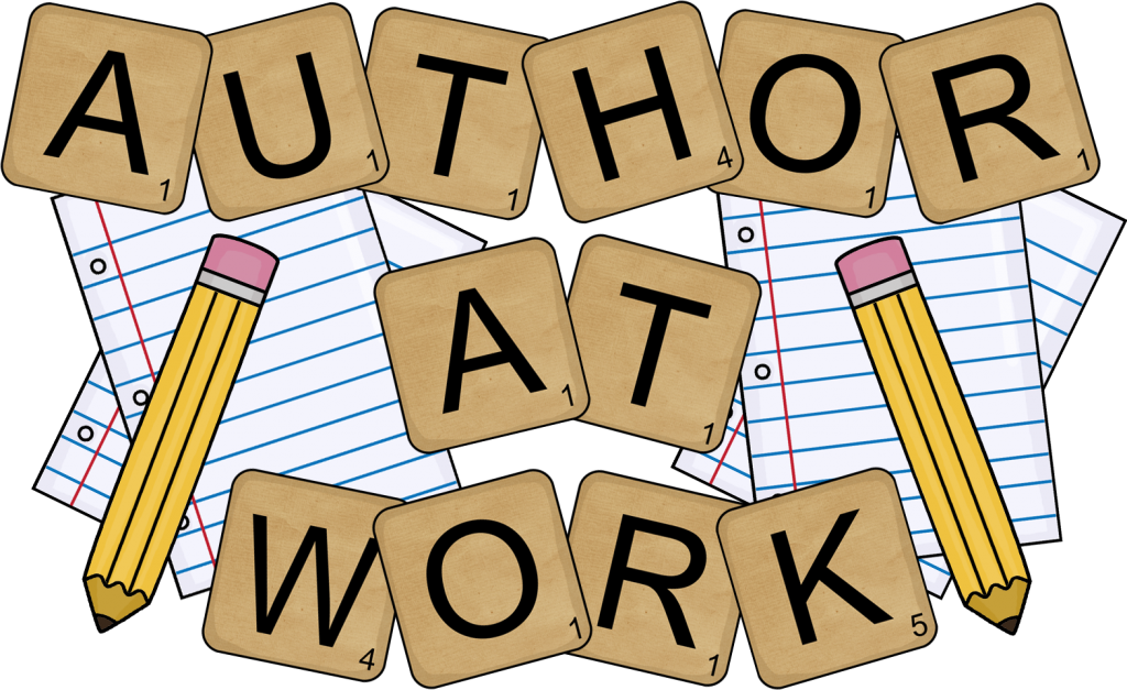 Word work writing clipart.