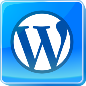 Blue Wordpress.