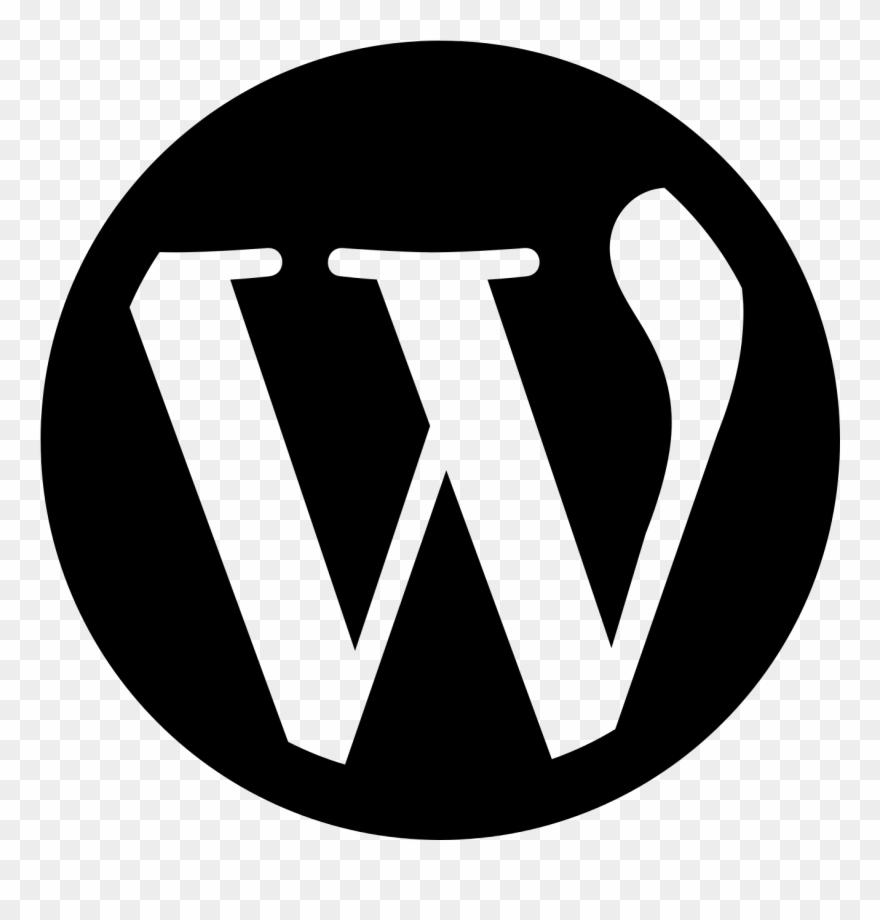 Wordpress Logo Clipart Outline.