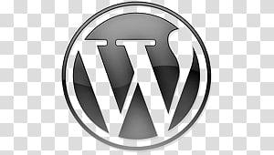 WordPress Logo, WordPress logo transparent background PNG.