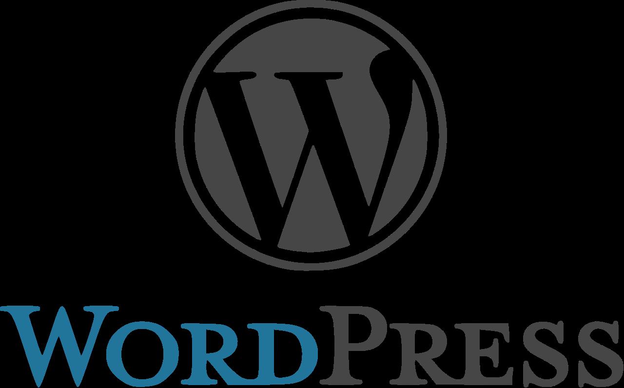 WordPress logo PNG.