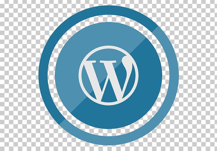 Wordpress Icon Transparent. PNG, Clipart, Aqua, Blog, Blue, Brand.