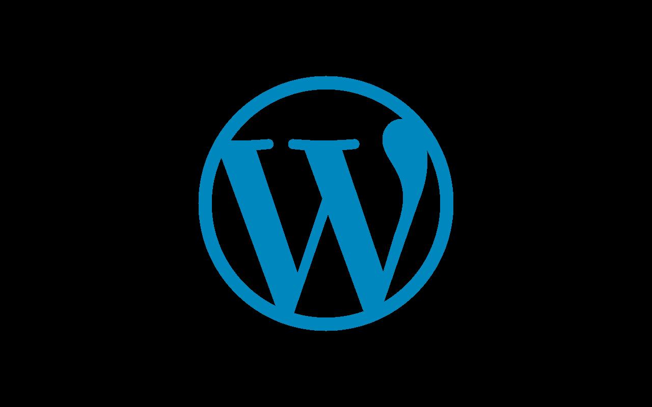 Download WordPress Logo PNG Pic.