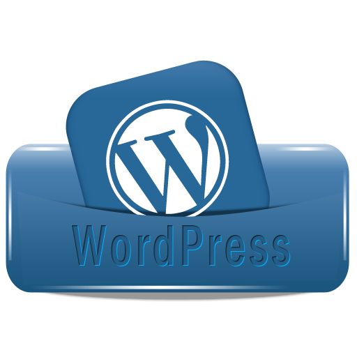WordPress Icon, PNG ClipArt Image.