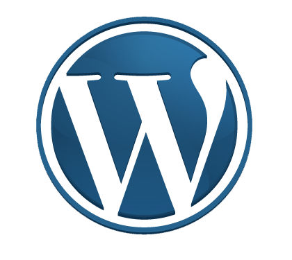 WordPress Transparent PNG Logo.