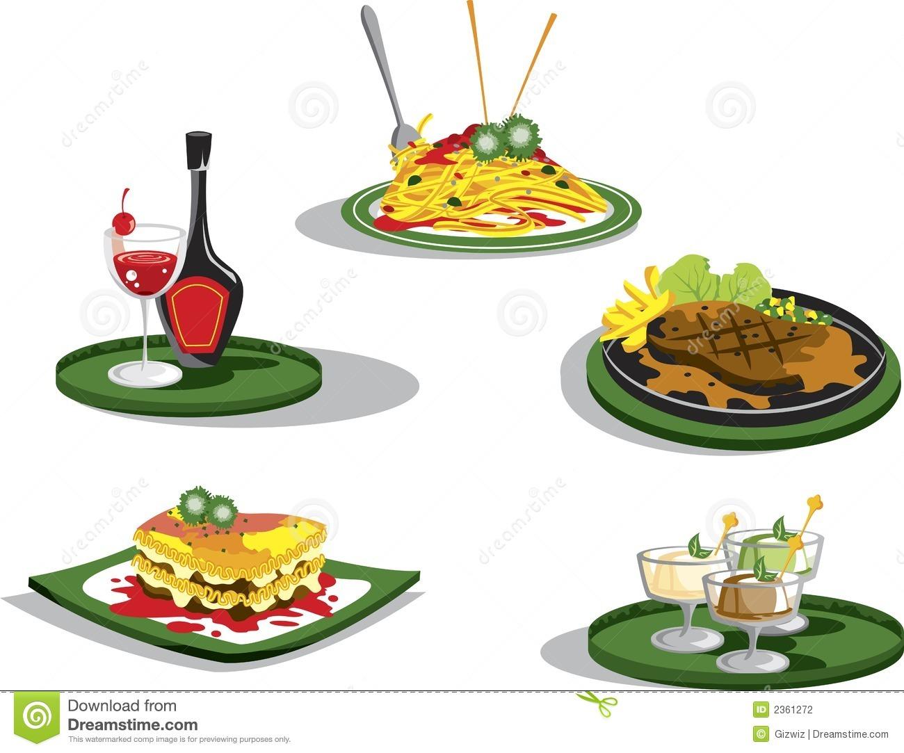 3851 Restaurant free clipart.