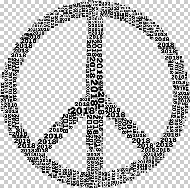 Peace symbols , 2018 art words PNG clipart.