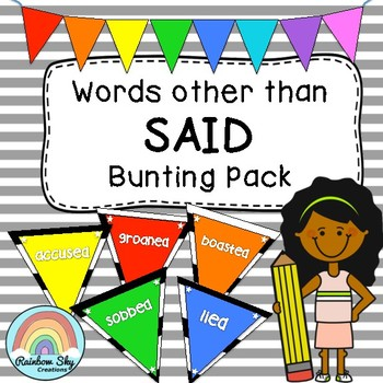 Words other than SAID Bunting.