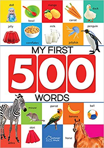 Many Inspirations Few Creations: My First Words.