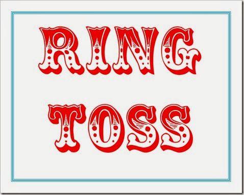 Ring Toss Printable.