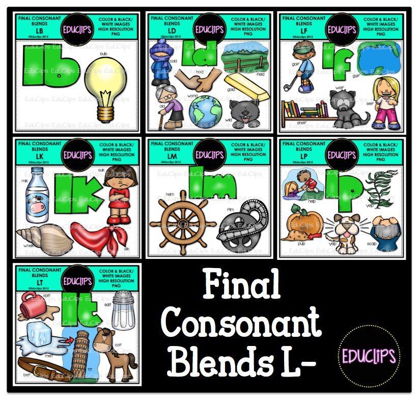 Final Consonant Blends L.