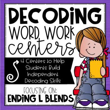 Ending L Blends Worksheets & Teaching Resources.