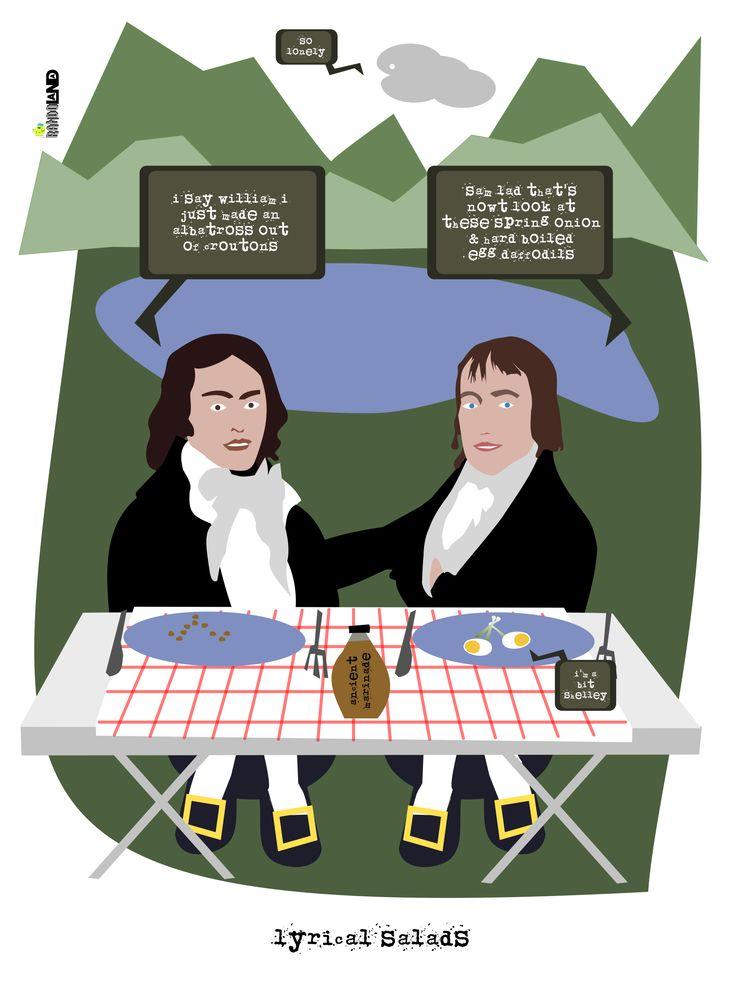 Lyrical Salads #cartoon #comic #parody #lyrical #ballads #salads.