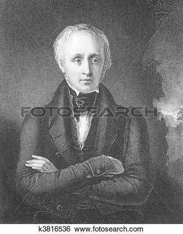 Stock Illustration of William Wordsworth k3816536.