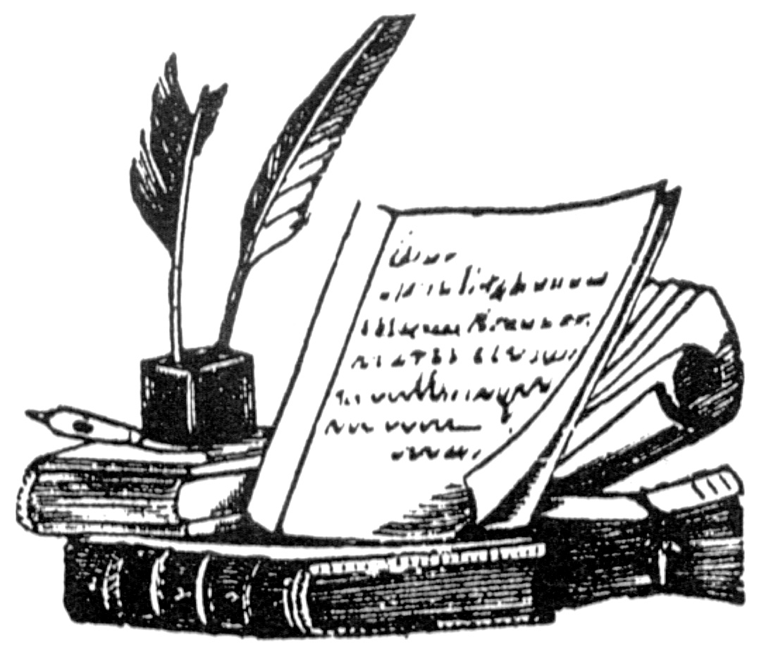 Poems clipart.