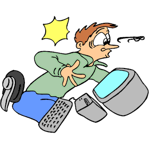Work Accident Clipart.