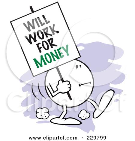 Work Money Clipart.