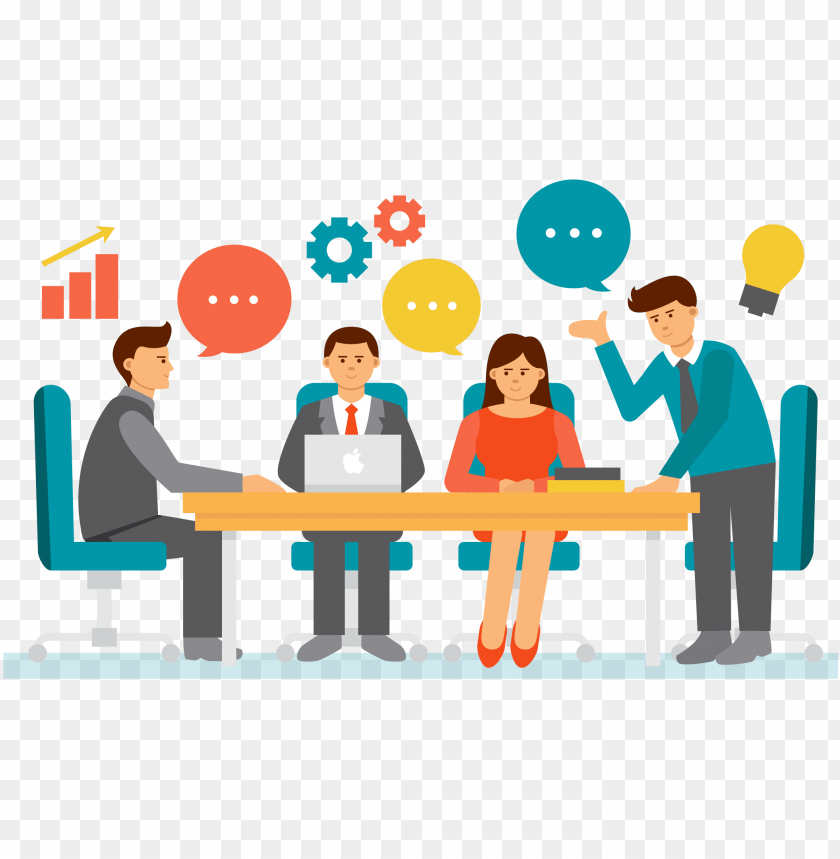businessperson meeting clip art transprent png.