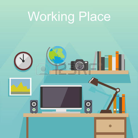 50,991 Working From Home Cliparts, Stock Vector And Royalty Free.