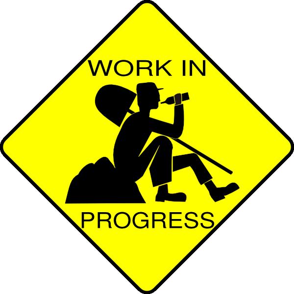 Work In Progress Clip Art at Clker.com.