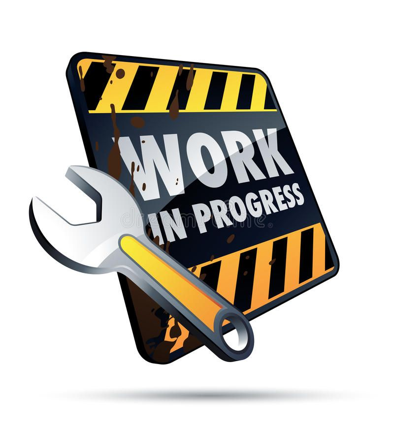 Work in progress. Clipart illustration , #Aff, #progress.