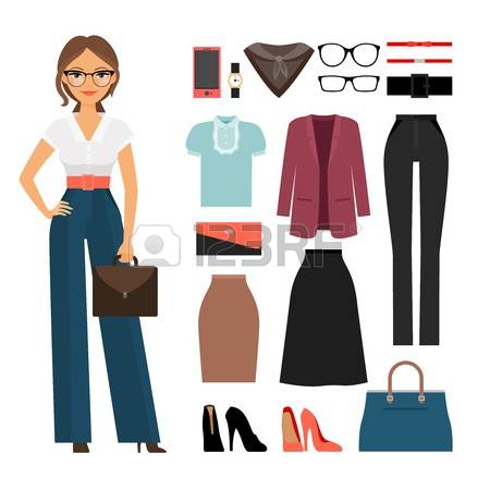 873 Formal Work Wear Cliparts, Stock Vector And Royalty Free.