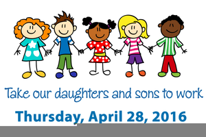 Bring Your Child To Work Day Clipart.