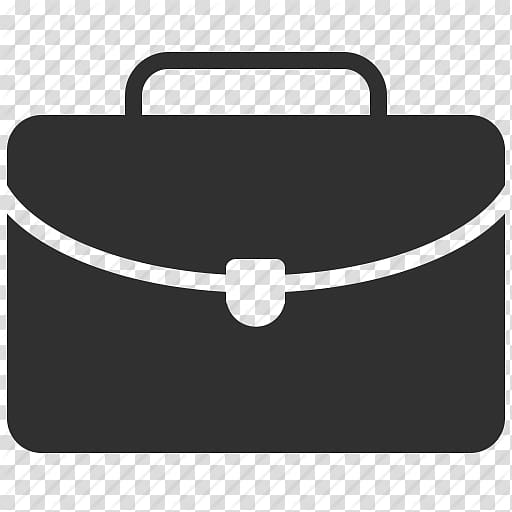 Black bag illustration, Computer Icons Briefcase Suitcase.