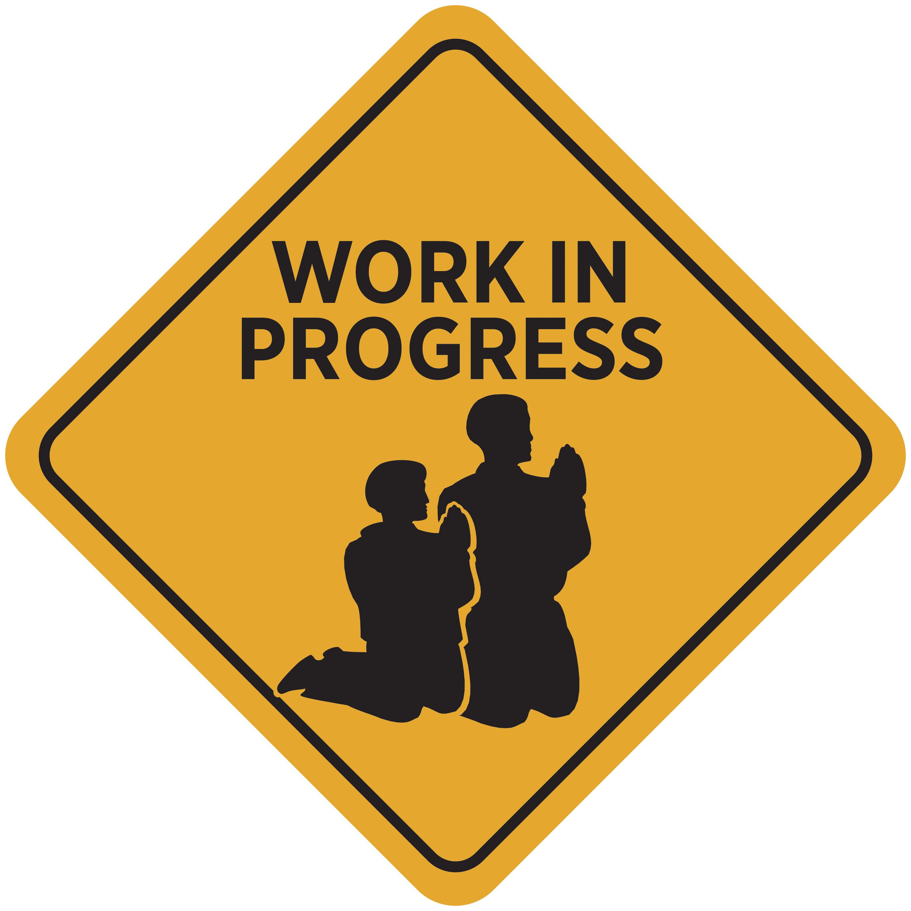Work In Progress Clipart.