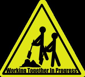 Student Work In Progress Clipart.