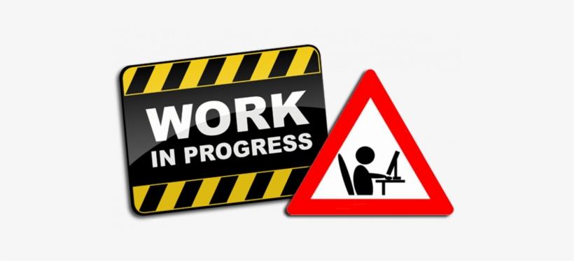 Website Work In Progress Transparent PNG.