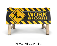Work in progress sign Clipart and Stock Illustrations. 3,569 Work in.