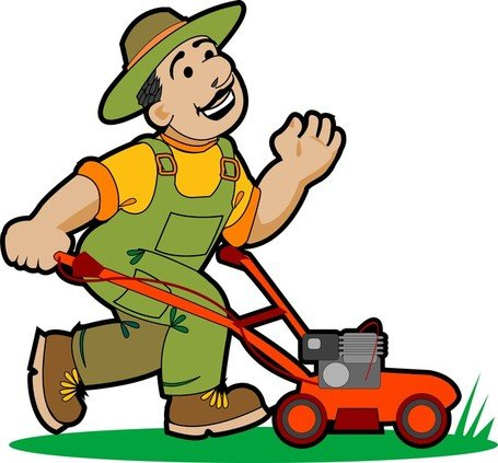 Garden Pruning Work 01 Clipart Picture Free Download.