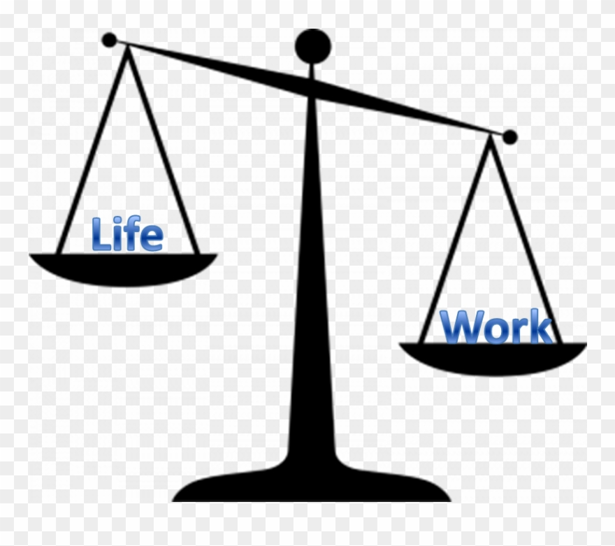 Work Life Balance Clipart.