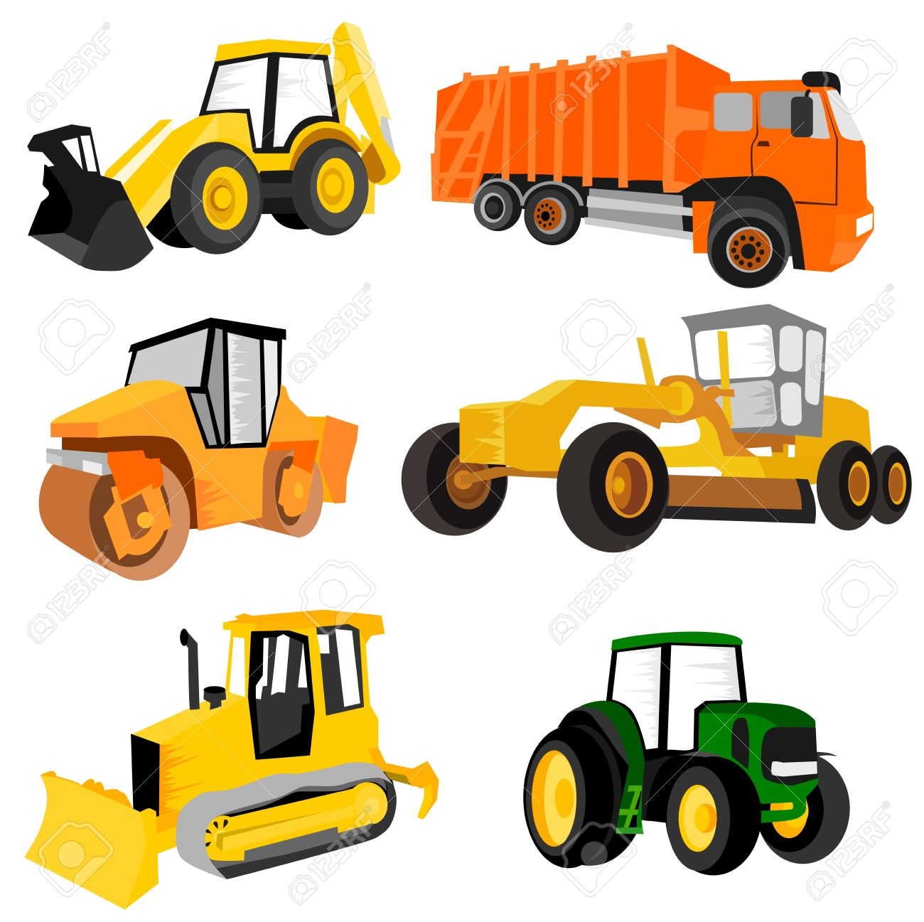 Working Machines Royalty Free Cliparts, Vectors, And Stock.