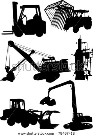 Work Machine Stock Vector Illustration 79467418 : Shutterstock.