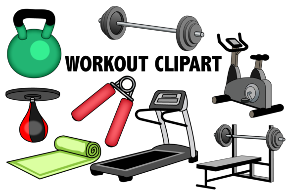 Workout Clipart.
