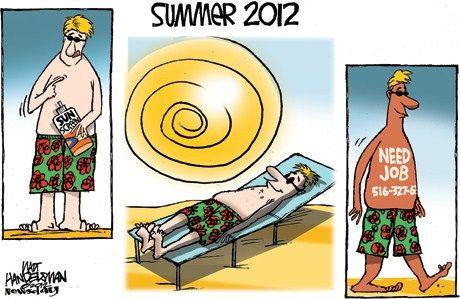 15 Funny Summer Job Cartoons.