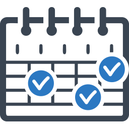 Weekly Work Schedule Clipart.