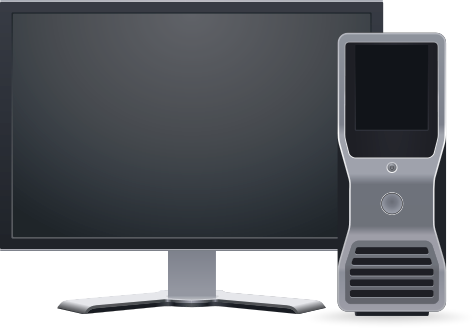 Free Computer Workstation Clipart, 1 page of Public Domain Clip Art.