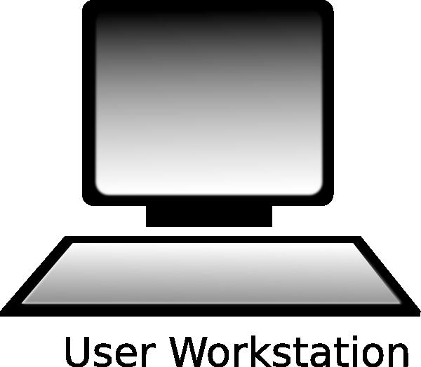Workstation Clipart.