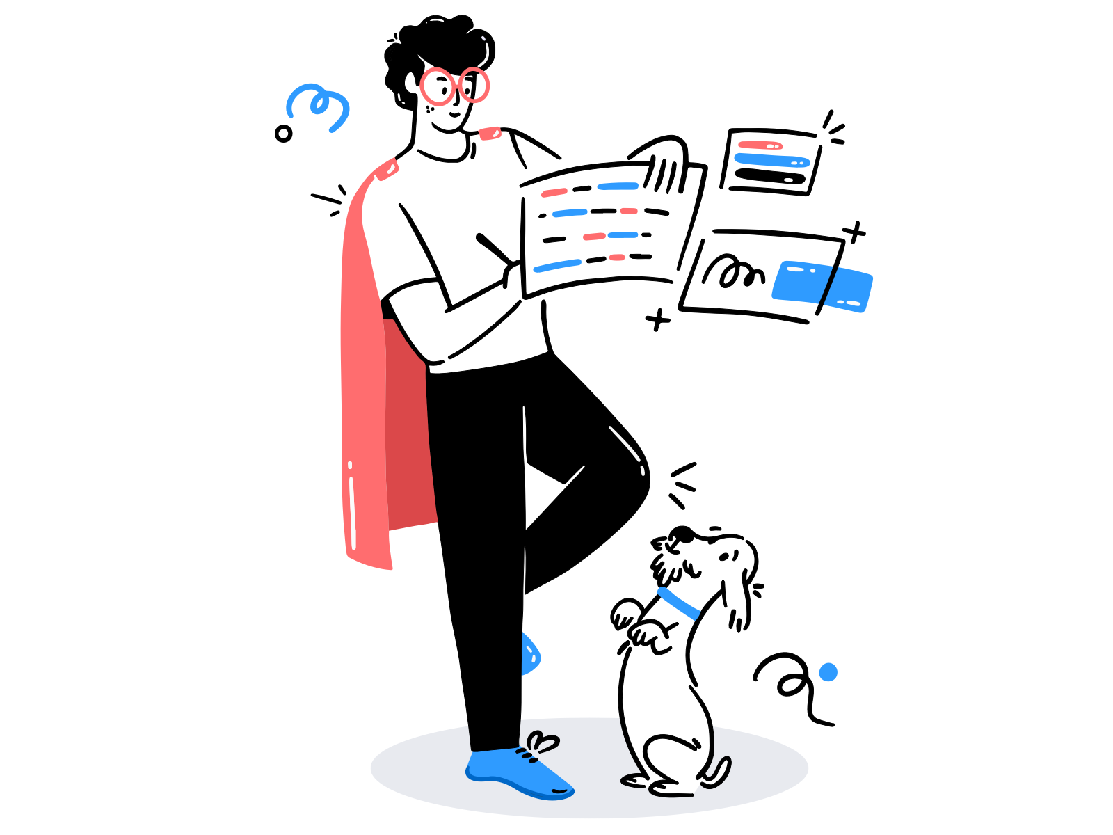 Manage your own task by Siddhita upare for Brucira on Dribbble.