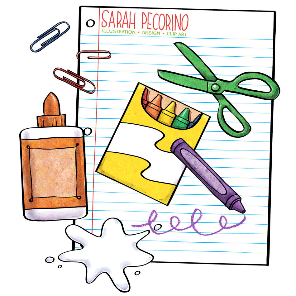 work supplies clipart clipground Homework Clip Art Homework Clip Art