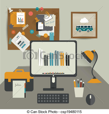 Work table Vector Clipart Illustrations. 14,333 Work table clip.