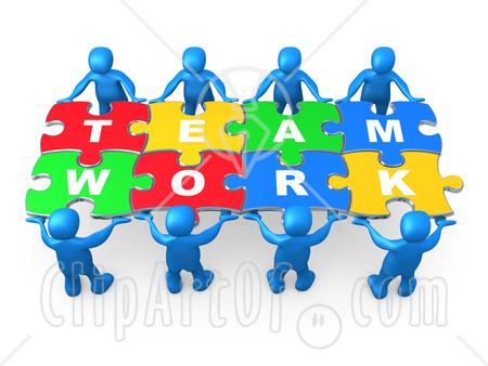 Clipart Work Together.