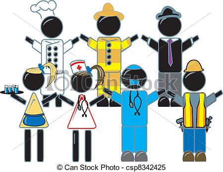 Related Keywords & Suggestions for Work Uniforms Clipart.
