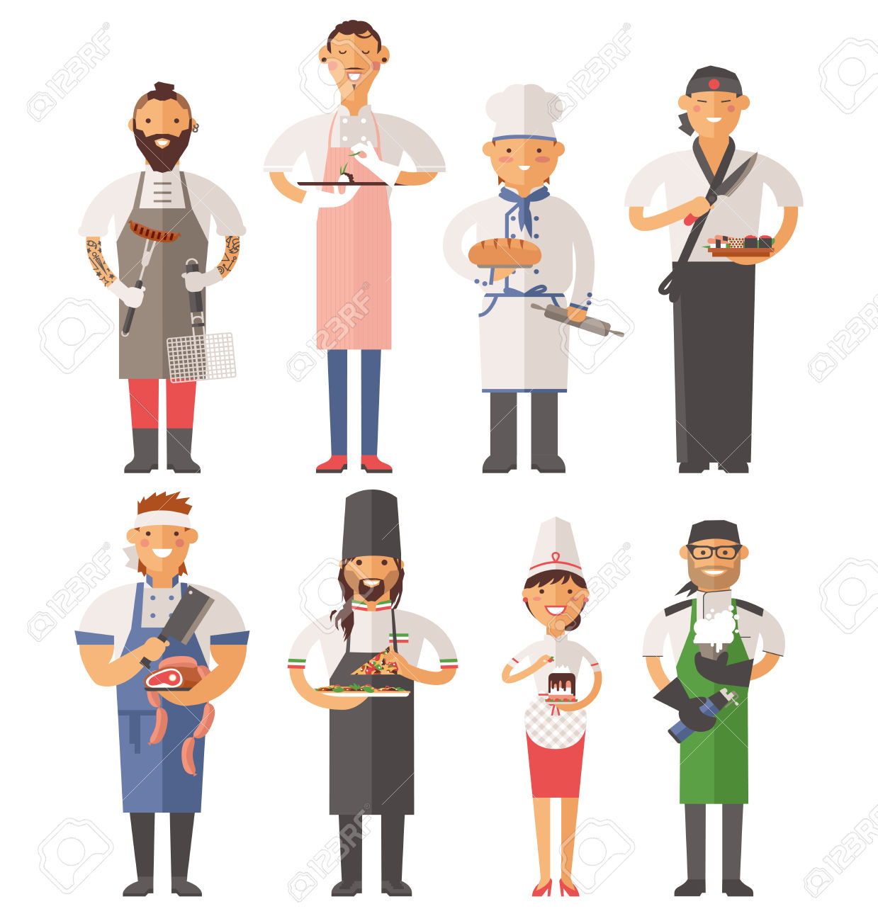 Showing post & media for Work uniform clip art cartoon.